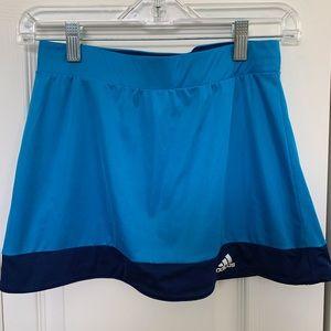 ADIDAS blue tennis skort